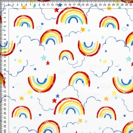 Интерлок Lovely Rainbow фото 2