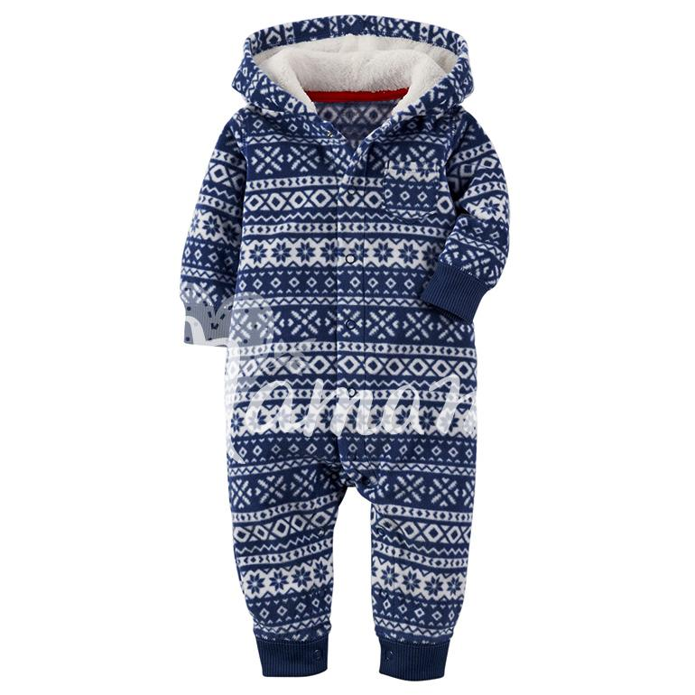 Микрофлис Navy Winterprint фото 2